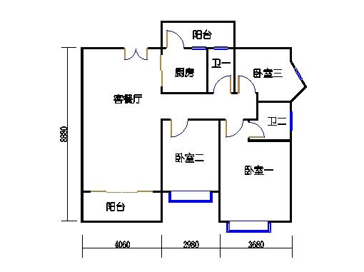 5栋A座(影悦轩)03单元