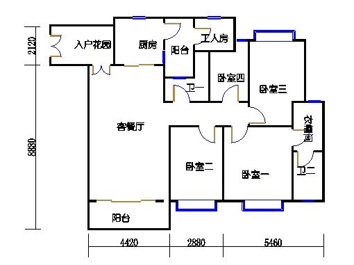 5栋B座(影悦轩)04单元