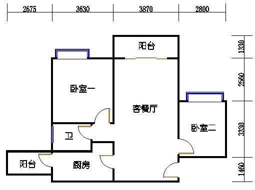 A1栋6-23层05单元