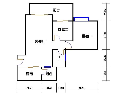 A1栋6-23层06单元