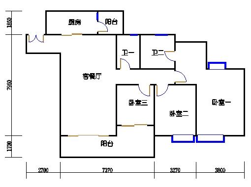 A1栋24-30层01单元