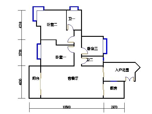 D3栋2-10层01单元