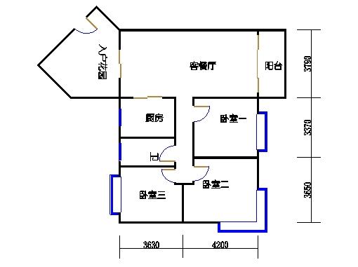 D3栋2-10层05单元