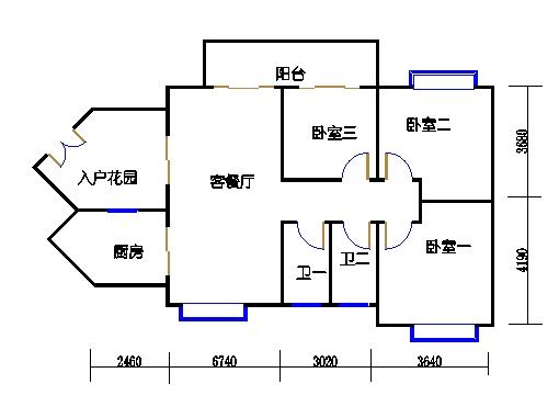 D3栋2-10层06单元