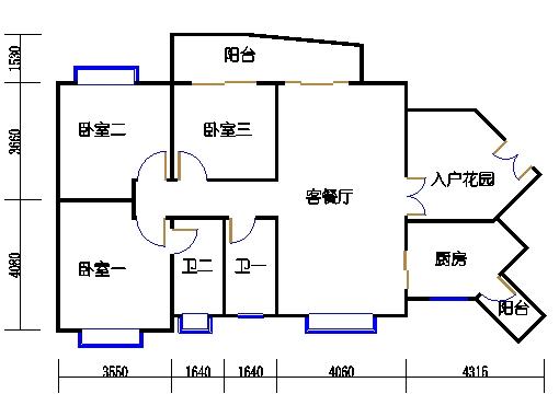 D3栋11-29层03单元