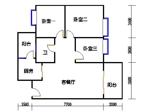 D栋4-18层01单元