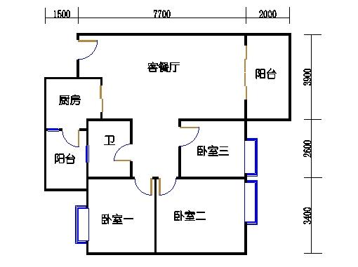 D栋4-18层02单元