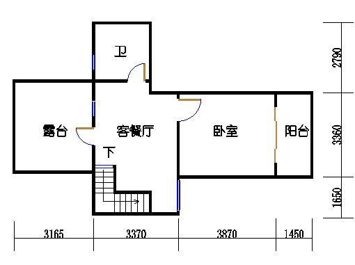 D单元复式二层