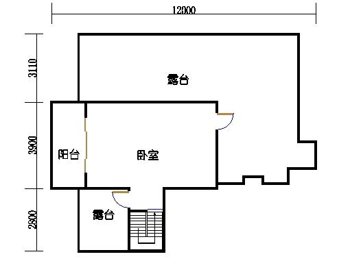 小高层E单元二层