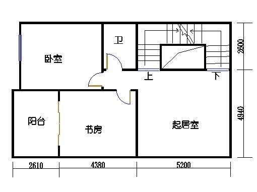 B6栋02单元地二层