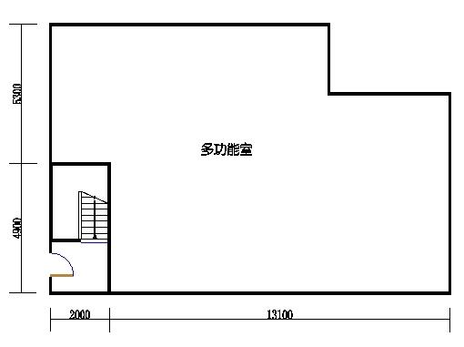 半岛叠景别墅G型3-5层夹层