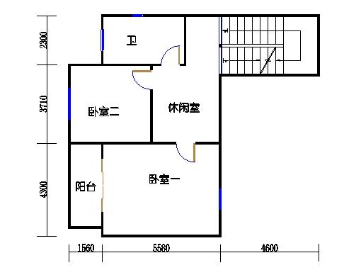 半岛叠景别墅G型3-5层四层