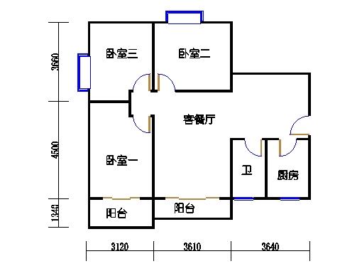 三居室C户型