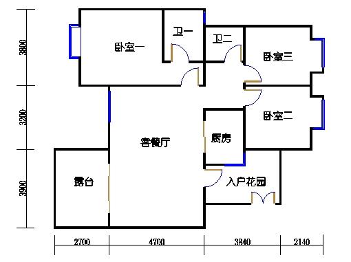 Q单元4-9层01单元