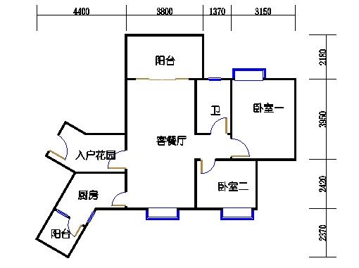 C4栋5-15层04单元