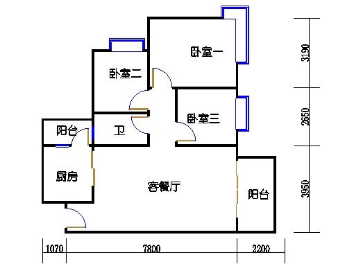 C4栋5-15层05单元