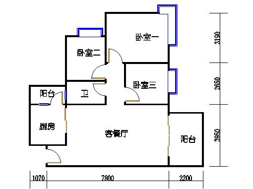 C7栋4层01单元