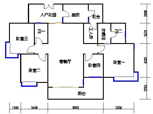 2D-28栋3-17层01单元