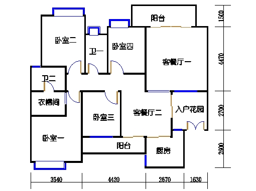 2D-28栋3-17层02单元