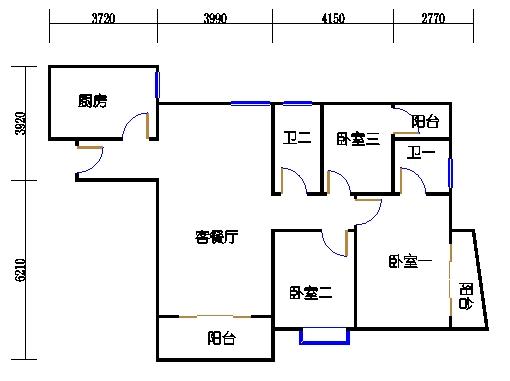 B栋7-29层02单元