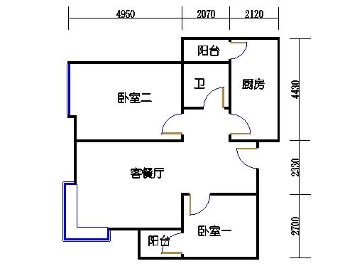 B栋7-29层03单元