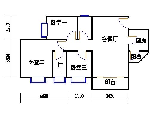 A8栋6-15层03单元