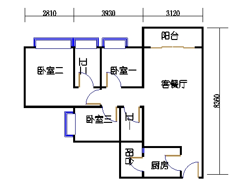 A8栋6-15层04单元