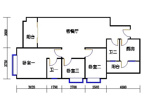 4栋3-9层01单元