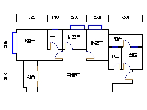 4栋3-9层02单元