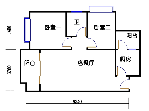 5栋3-9层01单元