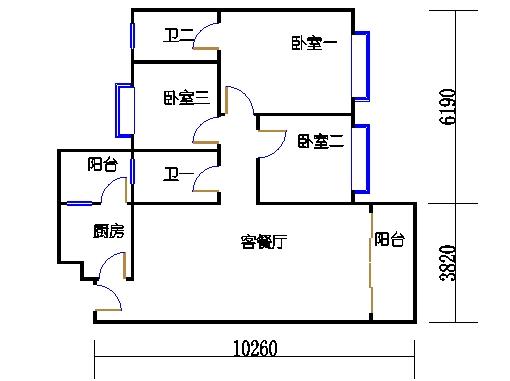 5栋3-9层04单元