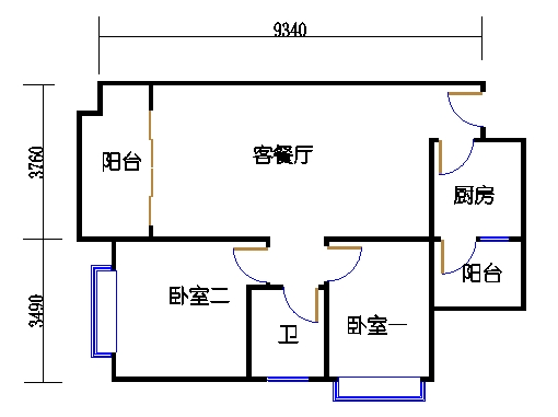 6栋3-9层03单元