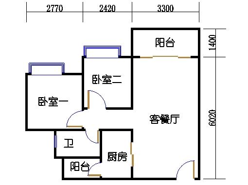 B2a19-24层06单元
