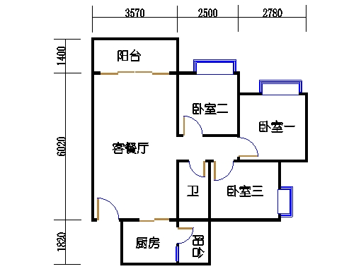 B2a19-24层07单元