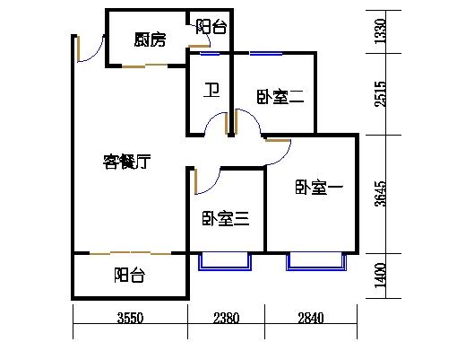 B2a25-26层01单元