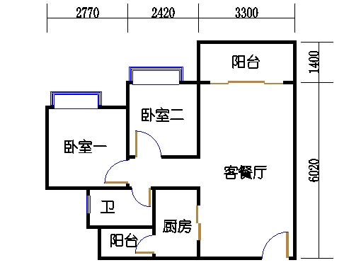 B2a25-26层05单元