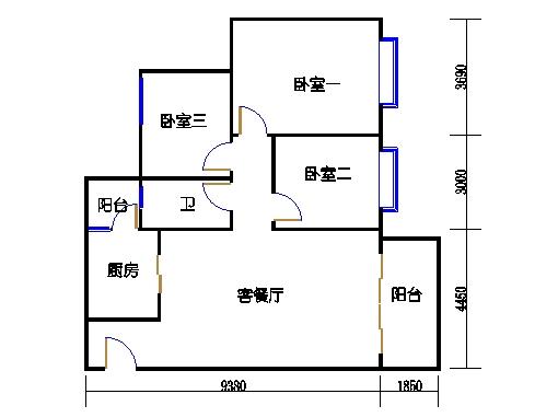 B2b25-26层03单元