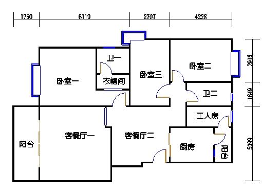 阅林苑9、10、11栋1梯01单元