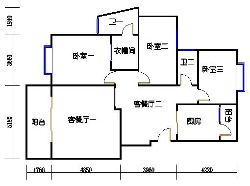 阅林苑9、10、11栋2梯01单元