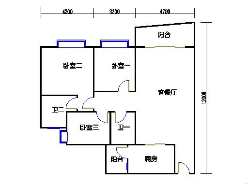 A5栋6-15层03单元