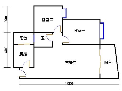 A6栋6-15层04单元
