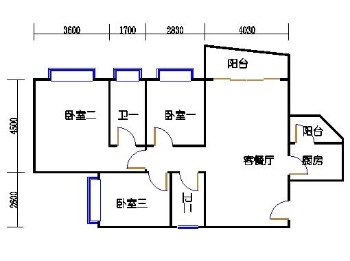 A7栋6-15层03单元
