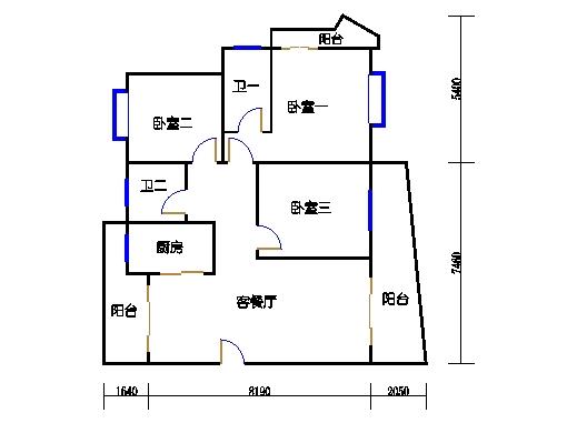 荟景台5栋605单元