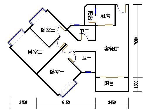 2座3-17层02单元
