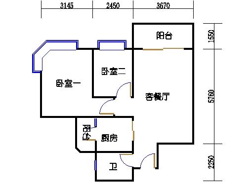 2座3-17层03单元