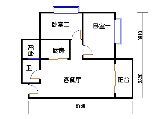 3座3-15层05单元