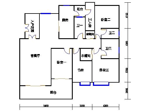 3号楼A单元