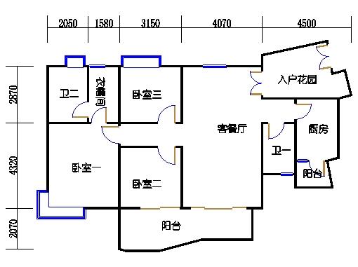 8栋3-7层03单元