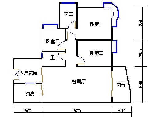 8栋8-11层04单元