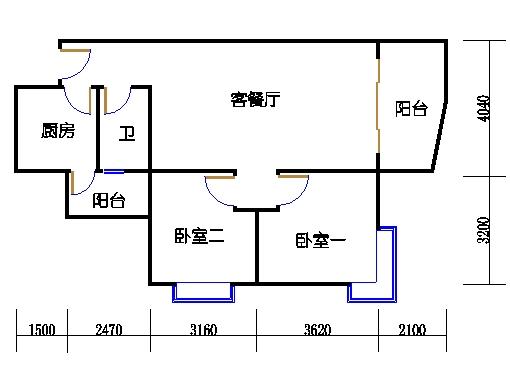 8栋8-11层05单元